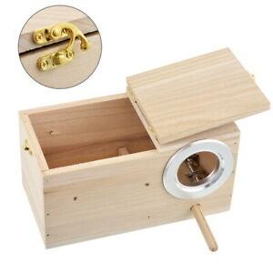 Small-Breeding-Wooden-Nest-Box-Bird-Nesting-Budgie-House-For-Lovebirds