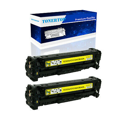 2PK CF212A Yellow Toner Cartridge For HP 131A LaserJet Pro 200 M251nw MFP M276nw