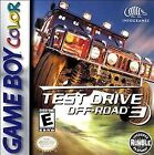 Test Drive Off-Road 3 (Nintendo Game Boy Color, 1999)