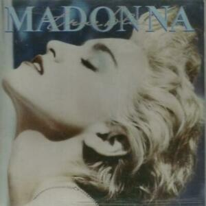 二手 早期日本版CD冇花 3200 YEN MADONNA TRUE BLUE 32XD