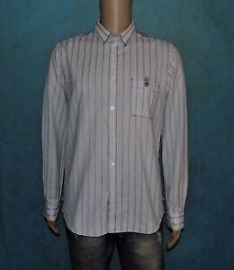 chemise-HUGO-BOSS-en-coton-bleu-ciel-taille-L-comme-neuve