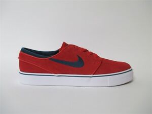 Nike SB Zoom Stefan Janoski Red White Navy Sz 10 333824-613