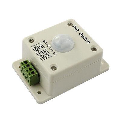 DC 12V-24V 8A Automatic Infrared PIR Motion Sensor Switch For light HOT