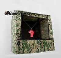 Airsoft Gound Box-type Gun Shooting Archery Target Portable Target Case Bag