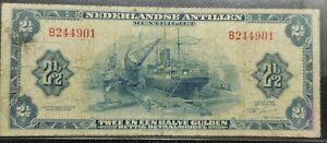 Nederland-Paper-Money-1964-Nederlandse-Antillen-2-5-Gulden