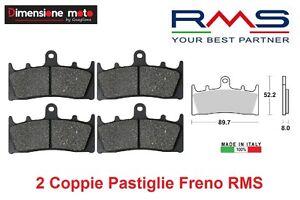 1170-2-Coppie-Pastiglie-Freno-Anteriori-RMS-per-SUZUKI-TL-1000-R-dal-1998