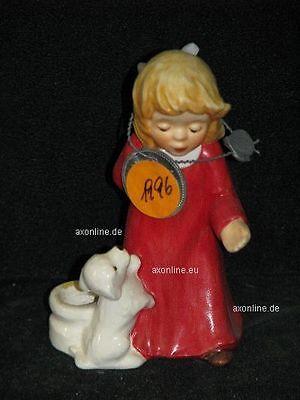 # A009076_04 Goebel Archiv Plombe Kerzenhalter Engel Angel Hund Welpe 42-062 Mit Dem Besten Service Romantisch