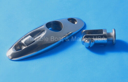 316 Marine Stainless Steel Bimini Top Swivel Deck Hinge Quick Release