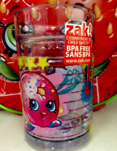 BRAND NEW SHOPKINS Girls Kids children Water Bottles Cups BPA Free