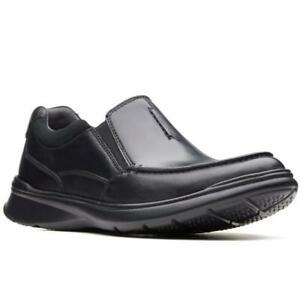 Ortholite Zapatos On Cotrell Clarks Men's Cushion Slip Free Leather Black Soft dXggwvqzx