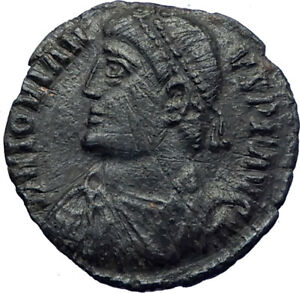 JOVIAN-363AD-Rare-Authentic-Ancient-Genuine-Roman-Coin-WREATH-i73220