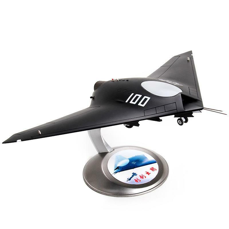 1 48 Scale The Sword of Stealth Metal Airplane Aircraft Static Model Collection