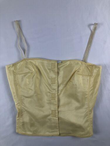 Vintage Prada Yellow Silk Cami   42
