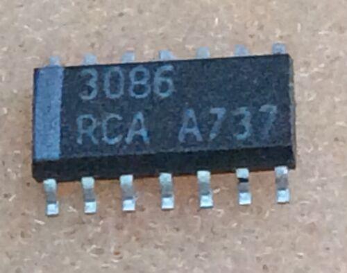1 pc CA3086  RCA  NPN Transistor  Array  SOIC16  NOS  #BP