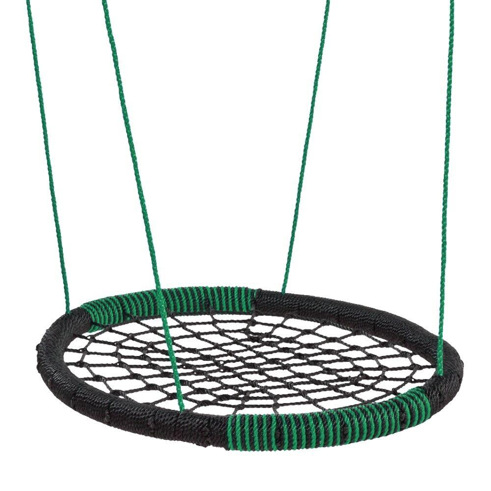 Poder de columpio WICKEY nido swing oval multi niño swing swing redondo 108 x 83, 5 cm