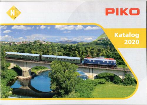 N CATALOGUE PIKO N CATALOG 2020 mit PREISANGABEN – with PRICES KATALOG N