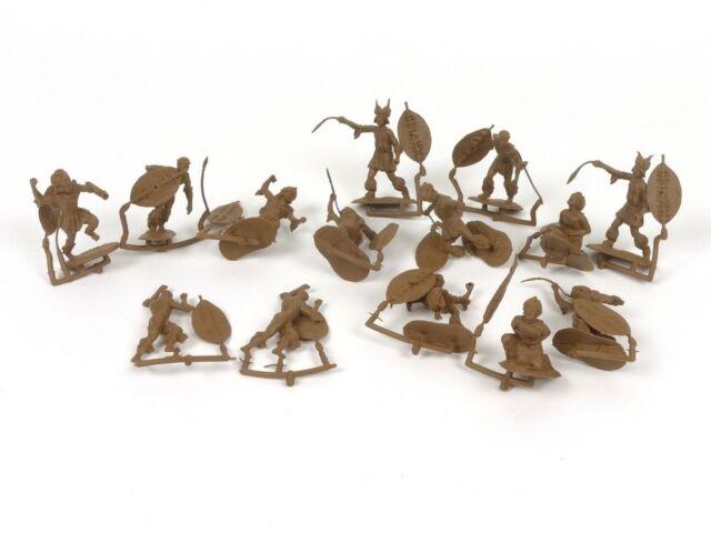 Conte Collectibles Zulu War Plastic Zulu Figures 54mm Soldiers Set 2