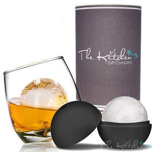 Rocking-Whiskey-Glass-amp-Mega-Ice-Ball-Gift-Set-Whisky-Glass-Ice-Mould-amp-Tube