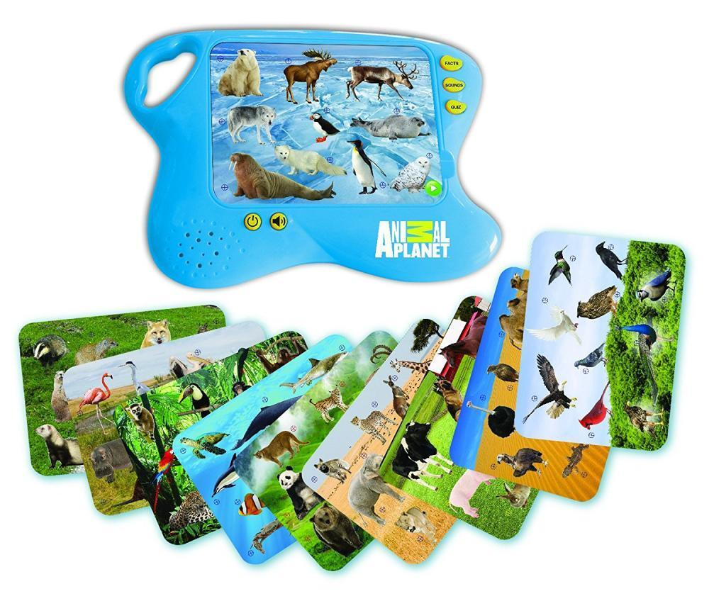Animal Learning Pad Educational Toy Kids Toddler Interactive Sounds Gift NEW