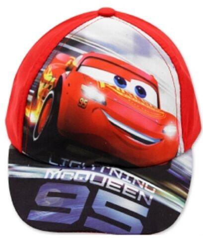 Baseball Cap Good Quality Boys Disney Cars Character 1 UV Protection UPF 30