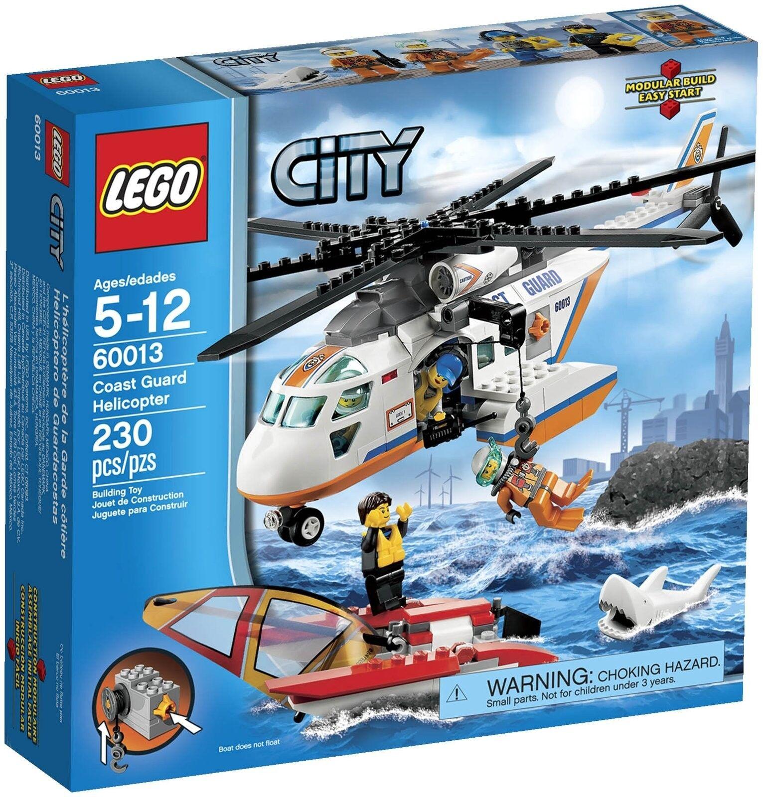 LEGO 60013 City Elicottero della Guardia Costiera