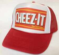 CHEEZ-IT Trucker Hat mesh Hat Snap Back Hat red