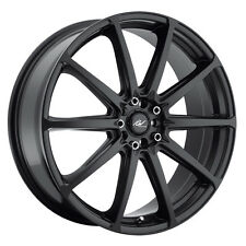 4-NEW ICW Racing 215B Banshee 17x7.5 5x100/5x114.3 +42mm Satin Black Wheels Rims