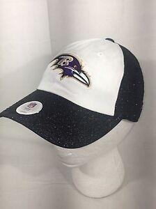 New Baltimore Ravens Women s Hat Cap NFL Team Apparel Adjustable ... caccef3b8b