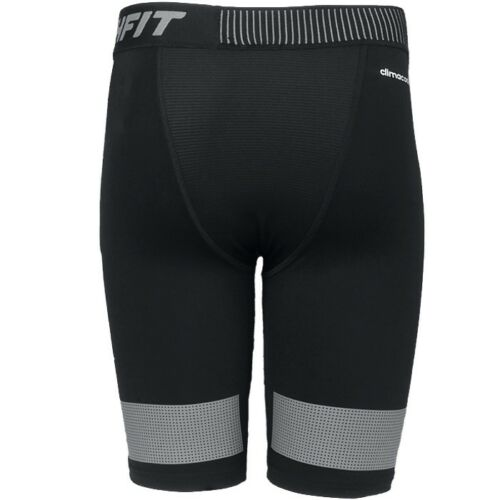 Adidas Techfit Cool 9 Inch M men/'s compression shirt black underwear workout NEW