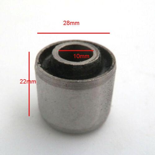 2 Stück 22x28x10 Motorlager Silentbuchse Für 50cc 80cc 4T GY6 139QMB Roller