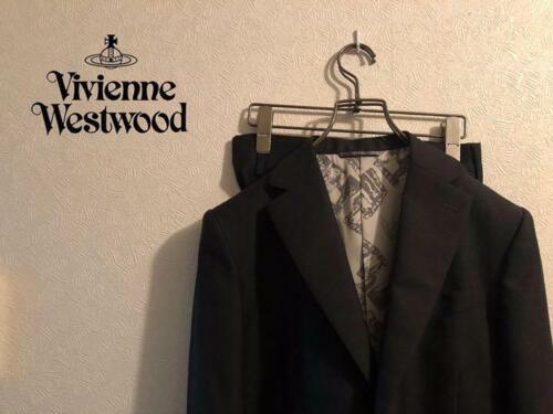 Vivienne Westwood MAN Authentic Wool Setup Suit Bl