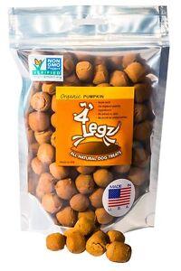 4Legz-100-Organic-Pumpkin-All-Natural-Dog-Treats-7oz-NON-GMO-Verified