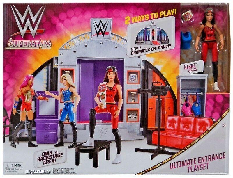 Wwe Superstars Wrestling Ultimate Ring Entrance Spielset Mattel