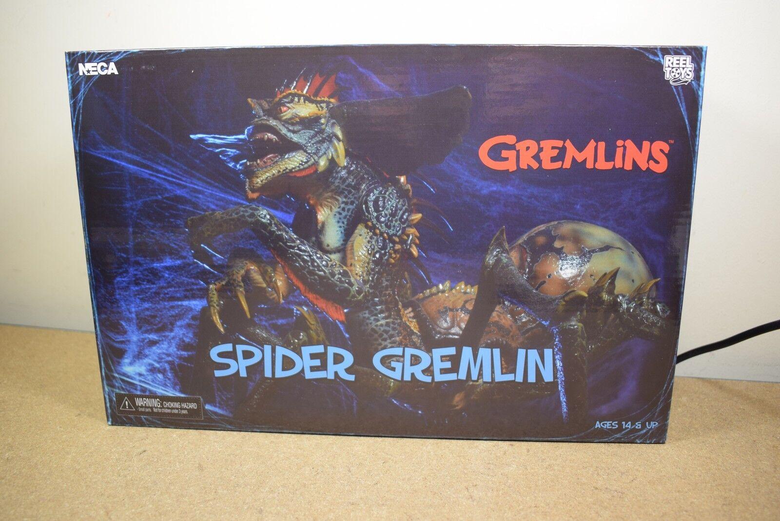 Echte neca gremlins spider gremlin 10  deluxe - actionfigur mogwai bnib