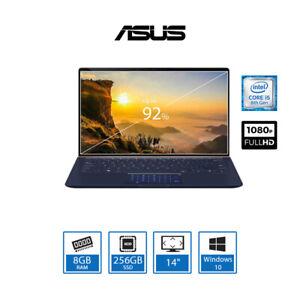 "ASUS ZenBook UX433FA 14"" 8th Gen Intel i5 Ultrabook Core 8GB RAM 256GB SSD Win10"