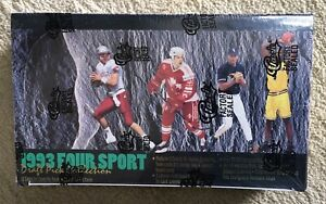 1993-CLASSIC-FOUR-SPORT-DRAFT-PICK-COLLECTION-FACTORY-SEALED-BOX