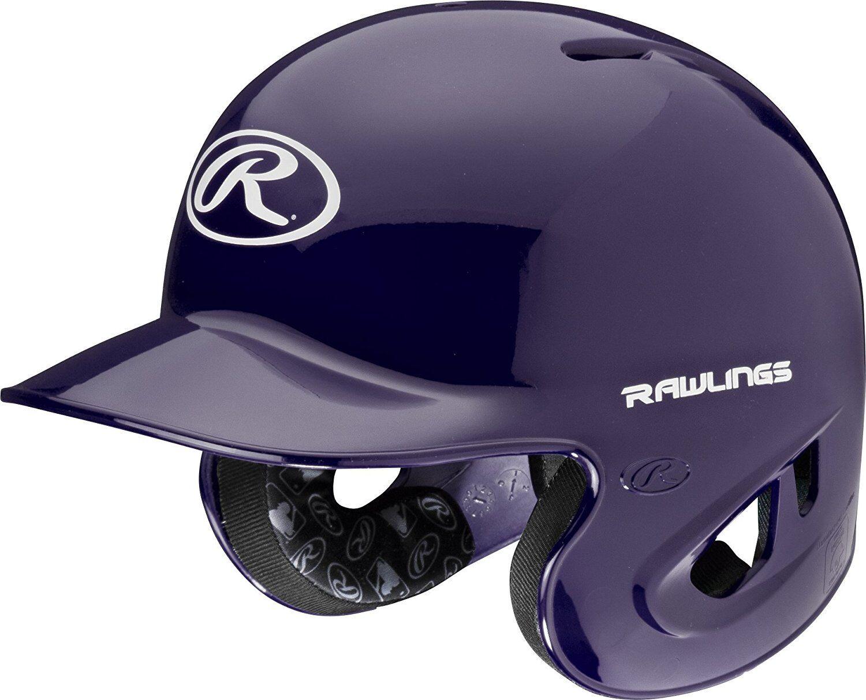 Rawlings S90PA-PU-91 Purple XL 90 MPH Mens Batting Helmet Baseball Batters