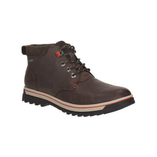 Clarks Gtx Ripwayhill 7 G marrón botas Uk hombres para cuero oscuro de tamaño RUTRqx