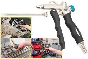 HAZET-9040-4-2-Wege-Druckluft-Werkzeug-Ausblaspistole-Kfz-Ausblasduese-lang-LKW