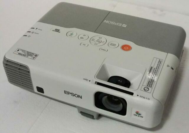 NO REMOTE Epson PowerLite S6 H283A LCD Projector Portable