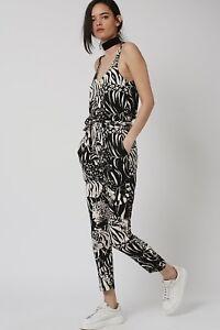 0b2705993f1 Topshop tiger print jumpsuit. 8. black white stripe cross back smart ...