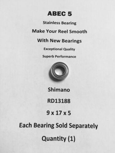 Shimano Baitrunner 12000D  RD13188 ABEC5 Stainless Bearing 9x17x5 #04