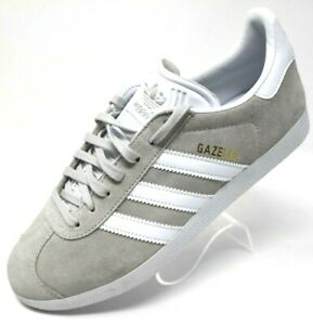 adidas gazelle white and grey
