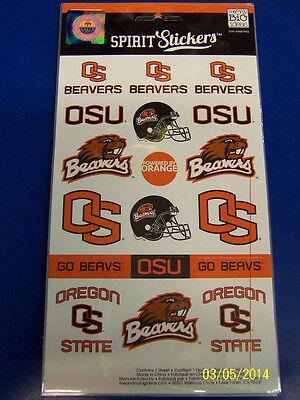 Oregon State Beavers NCAA University College Gift Logo Decals Spirit Stickers