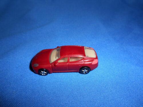 MAROON RED Mini PORSCHE PANAMERA 970 Plastic Toy Kinder Surprise CAR Vehicle