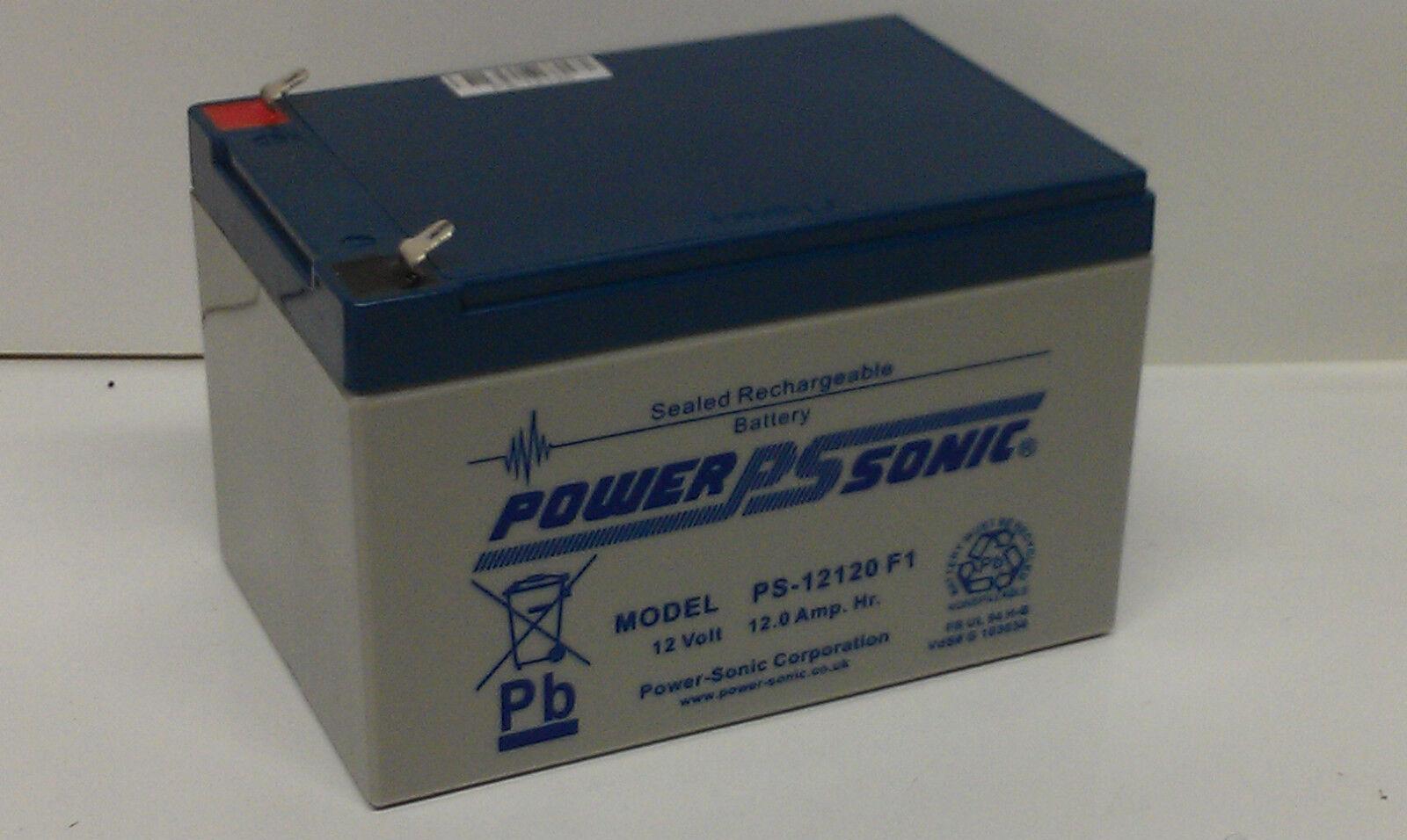PS12350 12V 35AH AGM//GEL Non-Spillable VRLA Lawn Mower Battery TYPE 896
