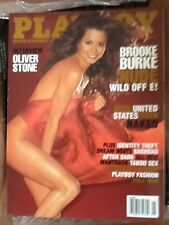 PLAYBOY NOVEMBER 2004 BROOKE BURKE NUDE OLIVER STONE INTERVIEW!
