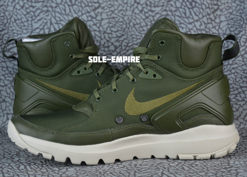 Nike Lab Koth Ultra Mid SI 834912-332 Rough Green String Mens Boot Stone Island