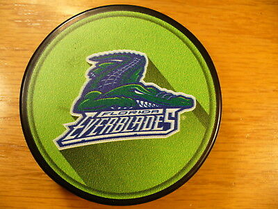 Hockey-other Sports Mem, Cards & Fan Shop Competent Echl Florida Everblades '17-18 Souvenir Logo Sherwood Hockey Puck Collect Pucks