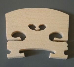 FULL SIZE, (4/4), Good Quality Aged Maple Violin Bridge, New, FREE POSTAGE